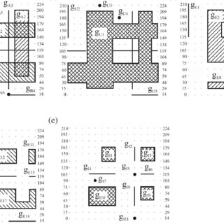 Examples of (a) spatial union, (b) spatial difference and