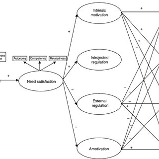 (PDF) A test of self-determination theory in school