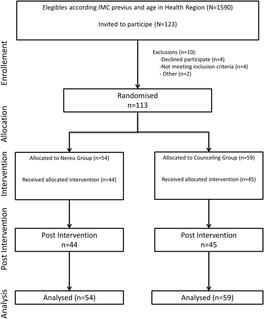 hight resolution of flow chart of study participants