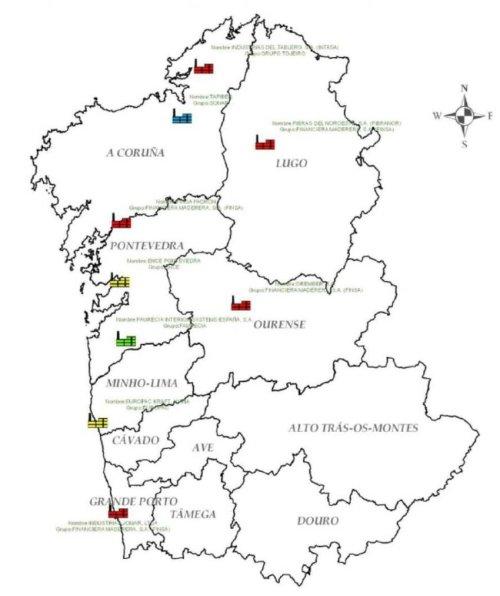 small resolution of  northern iberian peninsula wood transformation plants geo localization 1