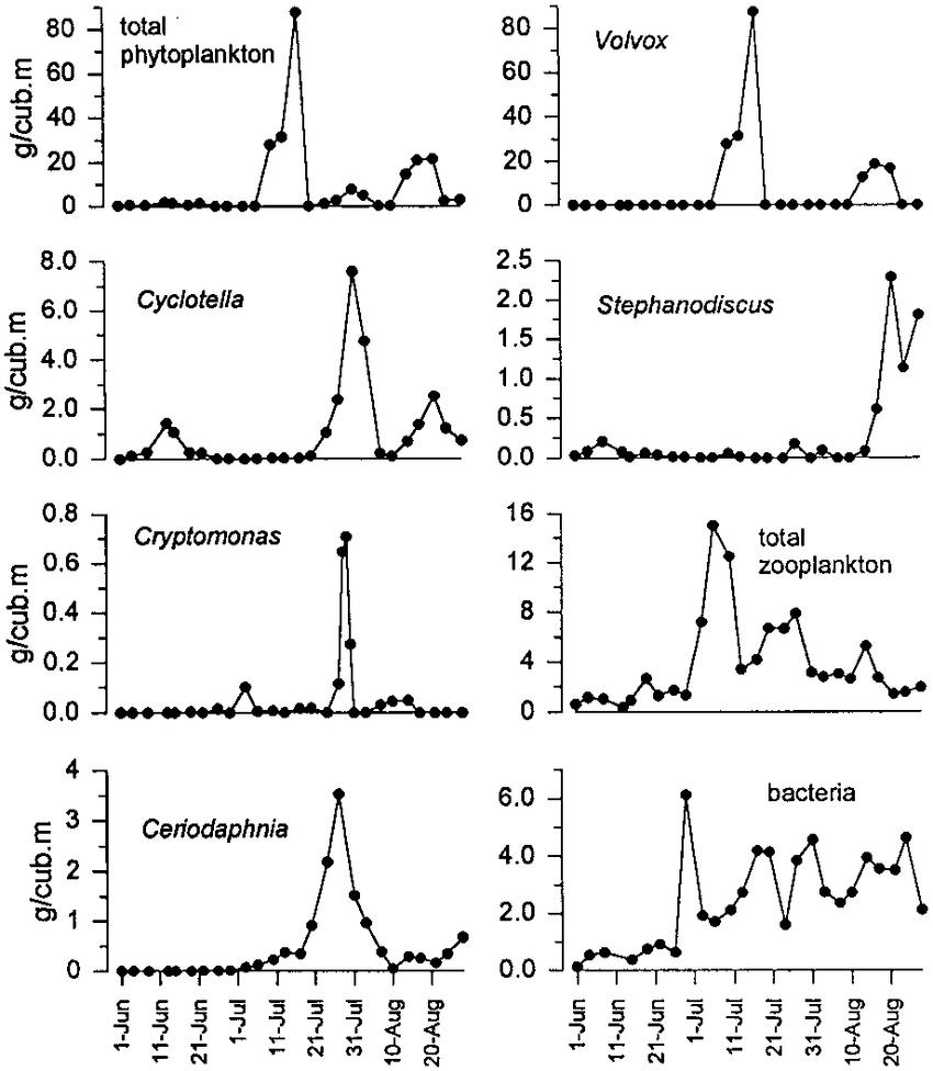 medium resolution of seasonal dynamics of the biomass of total phytoplankton volvox aureus download scientific diagram