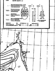Example of an ice chart from the time maximum extent in  normal also rh researchgate