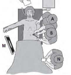 patient positioning and the surgical team for hartmann s operation and abdominoperineal resection  [ 850 x 1406 Pixel ]