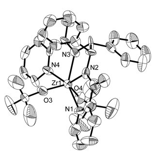 8. Above: 1 H NMR spectrum of a mixture of Mo complex and