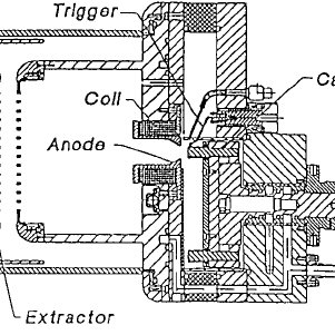 Plasma cathode electron gun for beam generation in fore