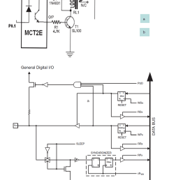a circuit diagram to operate relay b general digital i o pins digital relay circuit diagram [ 793 x 1121 Pixel ]