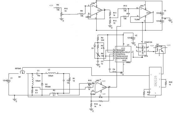 Circuit Diagram of Current programmed POL Converter