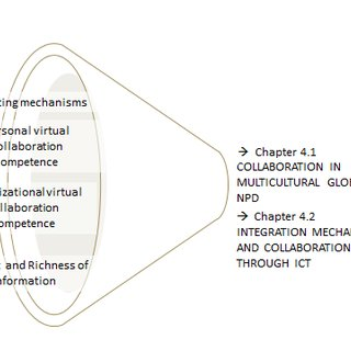 Description of the organizational levels of the case