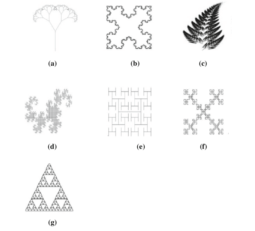 Geometrical shapes of some fractal geometry. a Tree