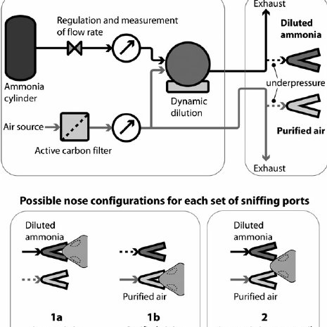 supply system and sniffing port