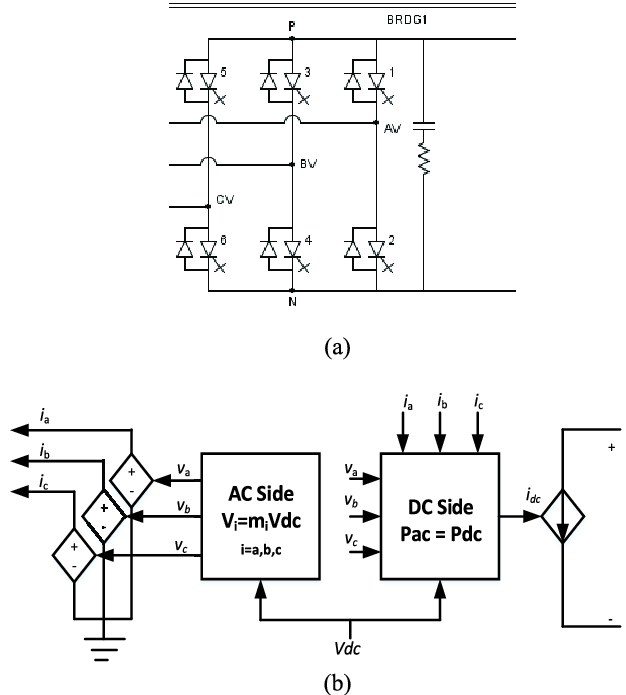 (a) Circuit diagram of a switched mode voltage source