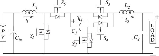Inverter schematic. (a) Case I: the inverter in GC mode