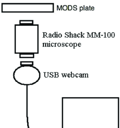 schematic diagram of the prototype 1 system magnifier and digital camera prototype with output to [ 717 x 1232 Pixel ]
