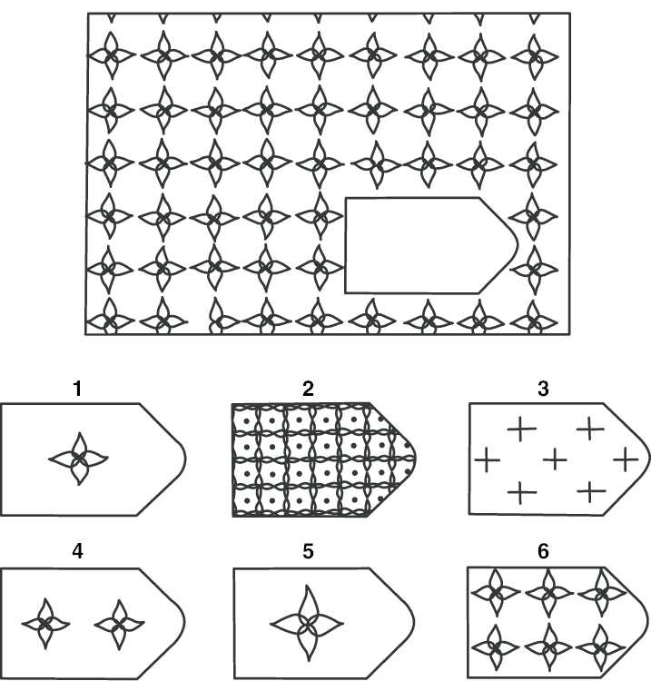 A simple item from Raven Standard Progressive Matrices