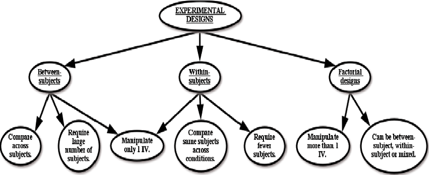 Example of a net concept map, detailing the different