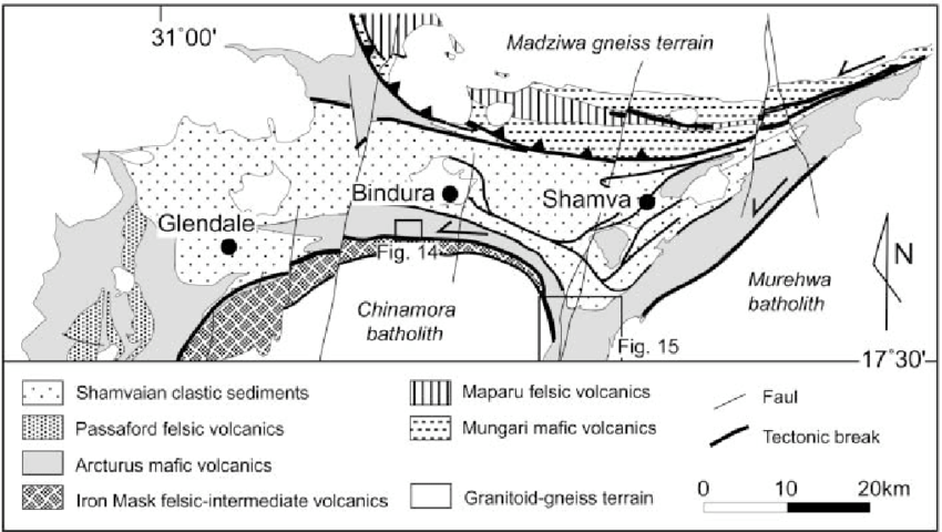 geological layers diagram