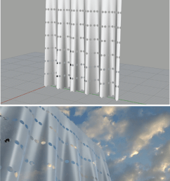 illustration of computational architecture using rhino and grasshopper top images and visualized on [ 850 x 2080 Pixel ]