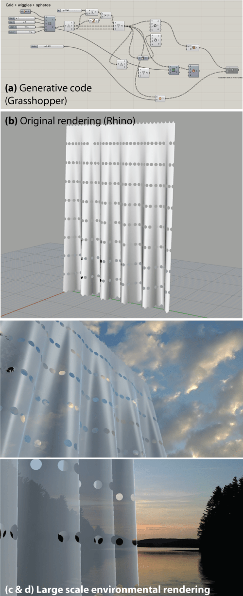 small resolution of illustration of computational architecture using rhino and grasshopper top images and visualized on