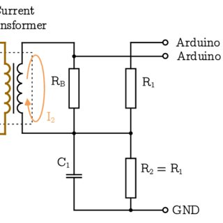 Wiring diagram for current transformer with matching