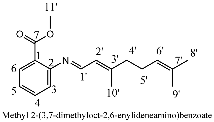 How to number carbon in nmr signal according to IUPAC sytem