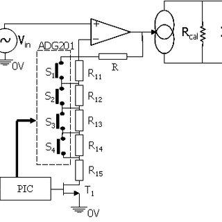 Diagrama esquemático do circuito completo da fonte de