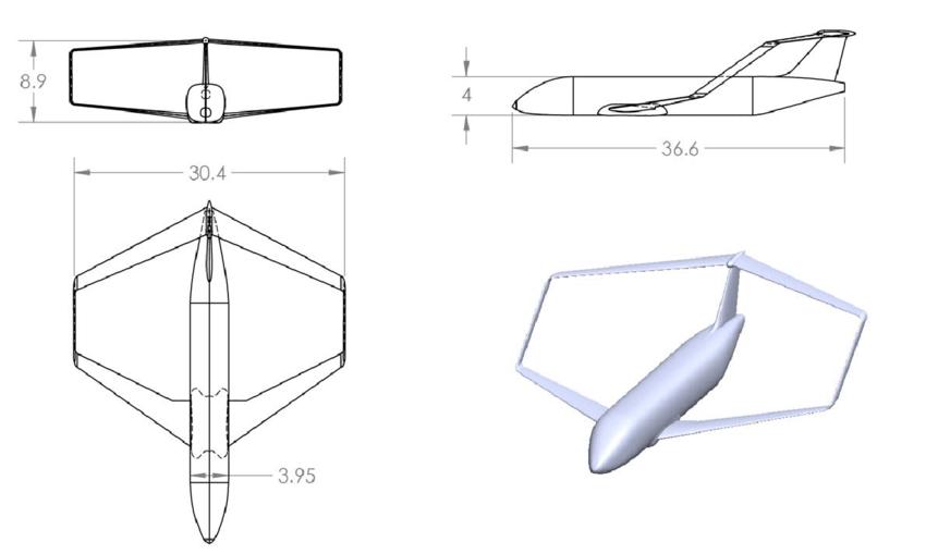 Airplane Dimensions In Meters