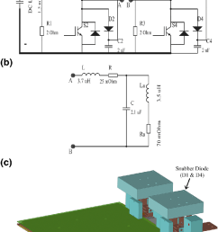 a schematic of the igbt based h bridge voltage source inverter circuit [ 716 x 1137 Pixel ]