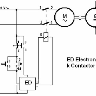 General block diagram of the proposed electronic device