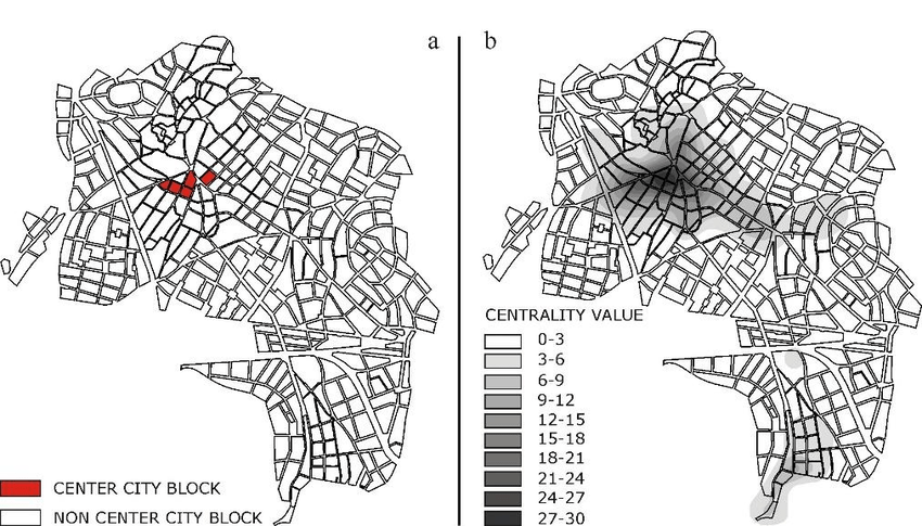 The application of CBIM in Aliveri, which divides the city