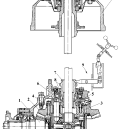 schematic of the bearings differential and gear reducer located rear differential schematic [ 770 x 1254 Pixel ]