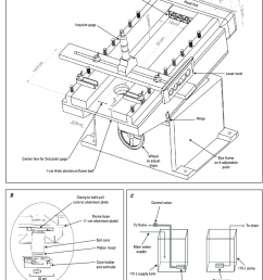 a diagram of shallow water tilting flume and circulation system b core [ 850 x 1011 Pixel ]