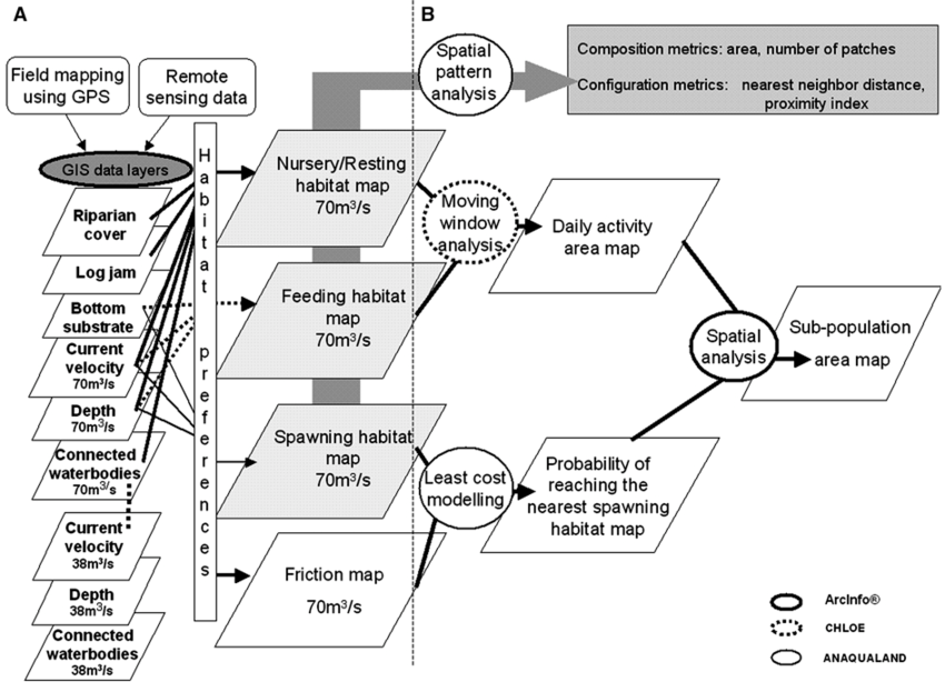 Flowchart of the proposed approach with process steps