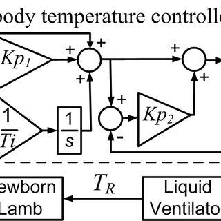 BLOCK DIAGRAM OF THE BODY TEMPERATURE CONTROLLER IN TLV. K