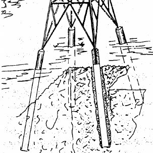(PDF) Prestressed foundations of electric pylons using