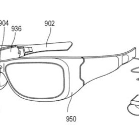 The schematic drawing for Microsoft's patent on augmented