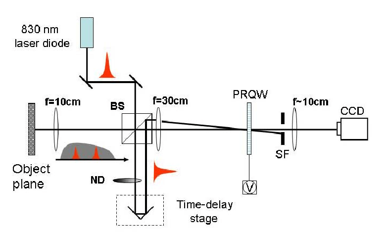 12 Two-wave mixing image system using an 830 nm broadband
