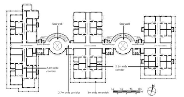Ground floor plan of the building Project timeline & key