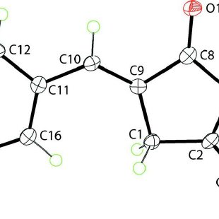 A view of the supramolecular layer in (I). The C—H···O and