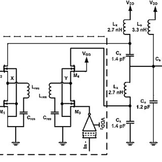 a A generic idealclass-E amplifier. b AC equivalent of