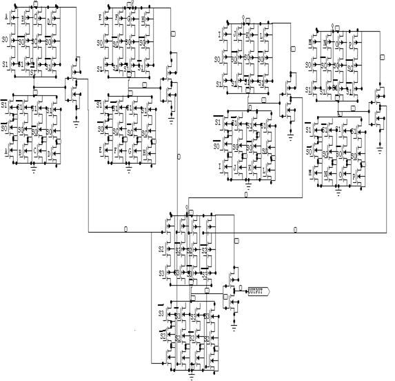 16x1 Multiplexer using 4x1 4.4. 16 x 1 Multiplexer Using