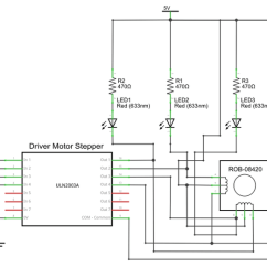Long S Stepper Motor Wiring Diagram Electrical House Diagrams Symbols Electronic Circuit Schematic Of Driver Cw Is 1010 And Ccw