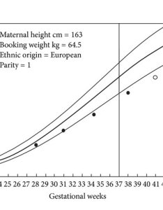 Chart representing expected population average growth in pregnancy with mother of height cm booking weight kg indian subcontinent ethnic group also examples customized carts rh researchgate