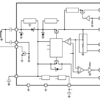 Basic wiring diagram for the LTC3108 circuit [4