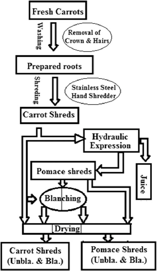 PROCESS DEPICTING DEVELOPMENT OF PRODUCT FOR DRYING
