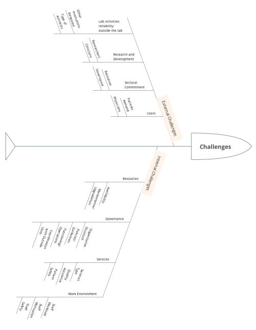 small resolution of lab challenges taxonomy fish bone diagram