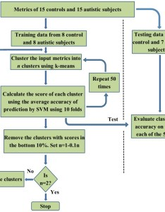 flow chart depicting the recursive cluster elimination based support vector machine rce also rh researchgate