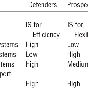 (PDF) Alignment Between Business and IS Strategies: A