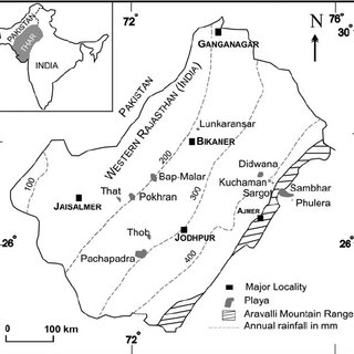 Geographical extension of the Siwalik sediments in