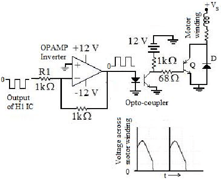 A typical bi-direction Hall Effect sensor without current