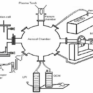 A schematic diagram of the Plasma Torch and its